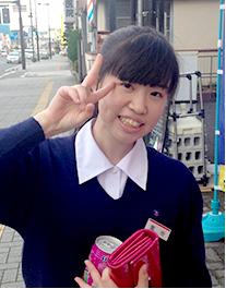 和歌山信愛高校 3年 室谷茉由さん